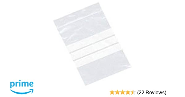 228 x 320mm Clear Plastic Polythene Resealable Gripseal Bags with Write On Panels 2X100 Large A4 9 x 12.75 Grip Press Seal Lock Packing Packaging Storage Pouches White Labelling Strips