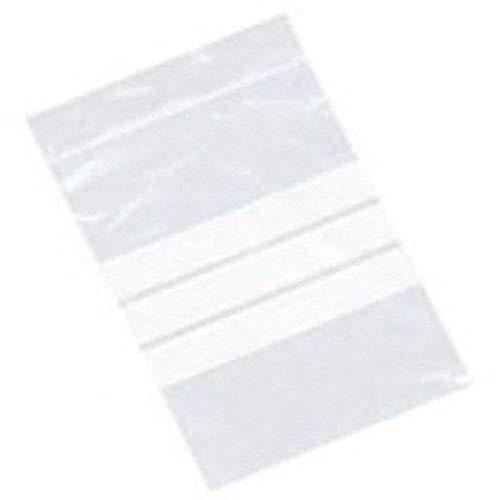 100 grande 15,2 x 22,9 cm/150 x 225 mm in plastica trasparente in polietilene con pannelli di scrittura