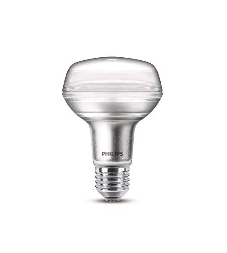 735 Lampe (Philips LEDclassic Lampe, ersetzt 100W, E27, R80, Warmweiß (2700 Kelvin), 735 Lumen, Reflektor)