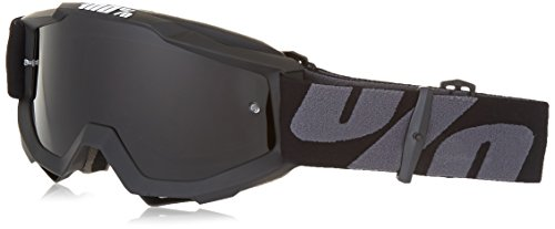 100% unisex-adult Goggle (Black,Smoke,One Size) (OTG SUPER Black OTG DKGrey) by 100%