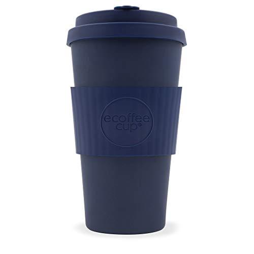 Ecoffee Cup Dark Energy 453,6 Gram Bleu foncé réutilisables en Bambou Tasse à café
