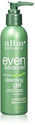 Alba Botanica Natural Even Advanced Sea Mineral Cleansing Gel - 6 fl oz-pack of 1 by Alba Botanica