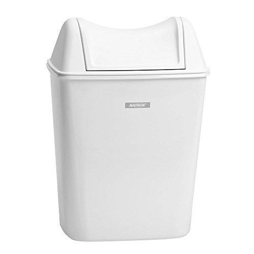 Katrin 91851 Damenhygiene-Abfallbehälter, 8 L, Weiß