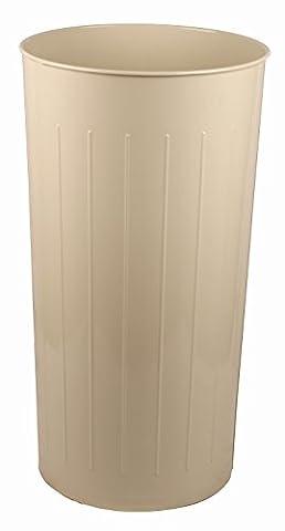Standard Tall Round Wastebasket - Set of 3 (Almond)