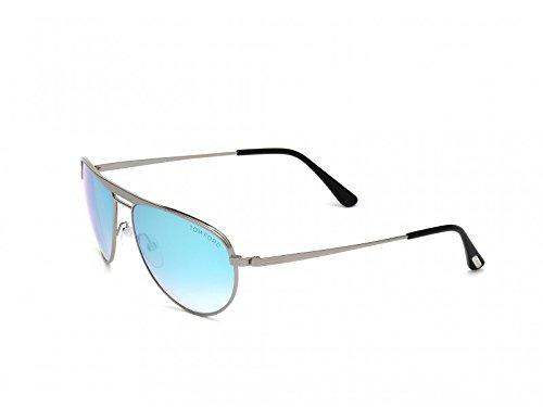 TOM FORD Sonnenbrille FT0207 08D Metallgrau glänzend 59MM
