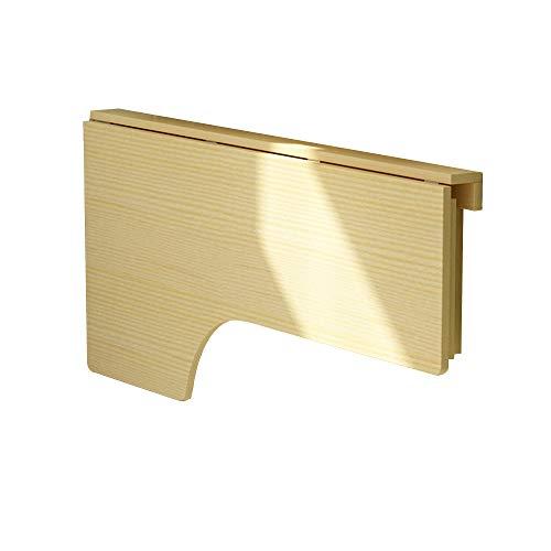 Bseack Tabelle L-förmige Tischplatte aus massivem Holz Drop-Leaf-Tisch, Falten gegen die Wand Computertisch Wandhalterung Lernen Schreibtisch, 4 Größen (größe : 140 * 60cm) - L-förmige Couchtische