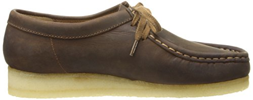Clarks Wallabee Stiefel Beeswax Leather