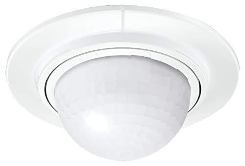 Steinel Einbau-Bewegungsmelder is 360-1 Max. 1000 W Schaltleistung, 360° Sensor, 4 m Reichweite, LED Geeignet, W, 240 V, Weiß [Energieklasse A+], 032845