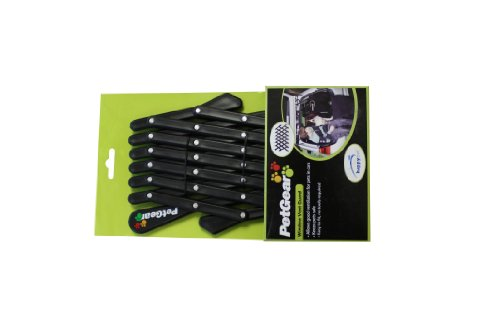 Easy to fit, no tools required, black 3