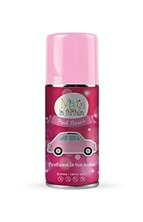 MARTA LA FARFALLA PINK ROSES 150ml spray Profumatore / Deodorante per auto e ambienti.