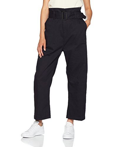 G-STAR RAW Damen Hose Bronson Xl Paperbag Waist Blau (Raw Pressed 5185)