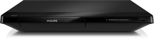 Philips Philips BDP2180/12 3D-Blu-ray Player mit Full HD Wiedergabe (My Remote, DivX Plus HD, Simply Share), Schwarz