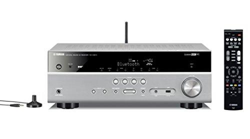 Yamaha AV-Receiver RX-V481 (4K UltraHD, AirPlay, Bluetooth, DAB+, DLNA, Lautsprecher A/B-Schaltung, WLAN) titan Yamaha Lautsprecher Heimkino