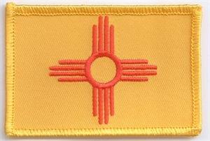 Patch zum Aufbügeln oder Aufnähen : New Mexico