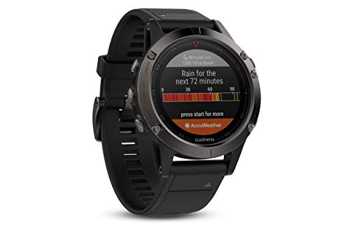 e18d958d3 Garmin Fenix 5 Multisport GPS Watch with Outdoor Navigation and Wrist-Based  Heart Rate -