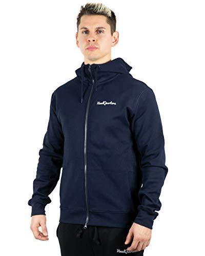 Headquarters Herren Performance Tech Fleece Full Zip Athletic-Fit Hoodie - Mehrfarbig - Klein Fleece Sleeveless Zip
