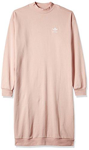 adidas Originals Women Pastel Camo Oversized Crew Dress (40)