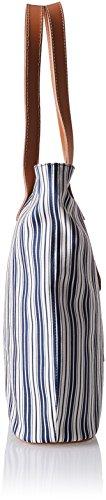 Timberland Tb0m3150, Borsa a Spalla Donna, 11 x 37 x 30 cm (W x H x L) Blu (LIMOGES)