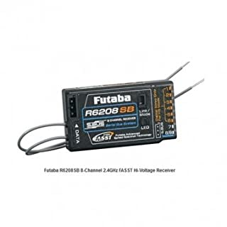 Futaba R6208SB 8CH 2.4GHz FASST Hi-Voltage Receiver with S-Bus