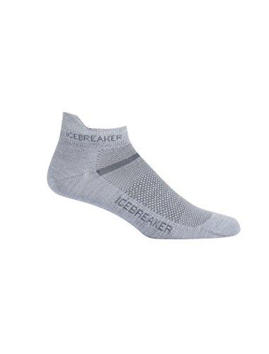 Icebreaker Herren Multisport Ultra Light Micro Socken, Fossil/Monsoon, M