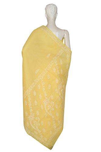 ADA Cotton Saree(A193325_Yellow_Free Size)