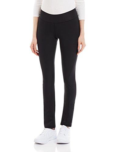 adidas Damen Sporthose Lang Workout Pants Skinny Hose, Black, XS