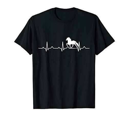 Isländer Islandpferd Pony Herzschlag Shirt