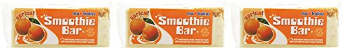 (3 Pack) - MA BAKER Smoothie Bar - apricot| 100 x 20 GX |3 Pack - Super Saver - Sparen Sie Geld - Apricot Smoothie