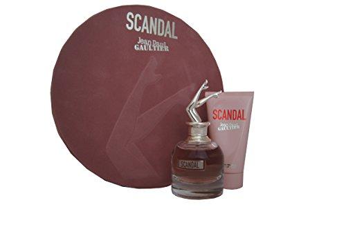 Jean Paul Gaultier Scandal Geschenkset 50ml Eau De Parfum EDP Spray and 75ml Body Lotion