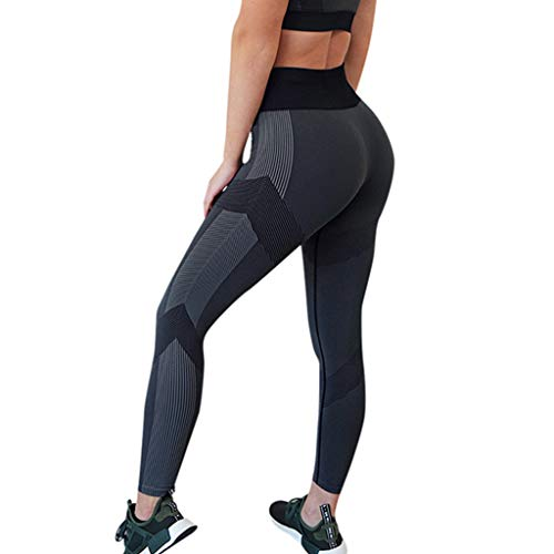 Haludock Sporthose Leggings Damen Yoga Hohe Taille Stretch Atmungsaktiv Yoga Laufen Fitness Große Stretch -