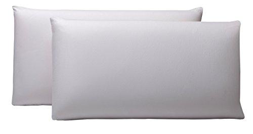 Pikolin Home - Pack de 2 fundas protector de almohada lyocell, impermeables,...