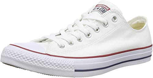 Converse Unisex-Erwachsene Chuck Taylor All Star-Ox Low-Top Sneakers, Weiß (Optical White), 43 EU