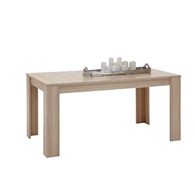 FMD Dining Table Brunch 6, 160.0 x 78.5 x 90.0 cm, Ash