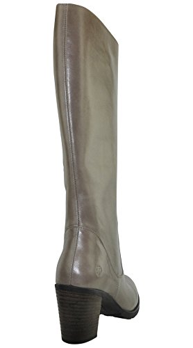 JJ Footwear Damen Stiefel Leder Bloomington XL Taupe Street