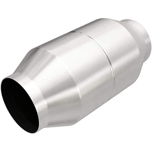 MagnaFlow 60110 Large Stainless Steel Universal Fit Catalytic Converter by Magnaflow