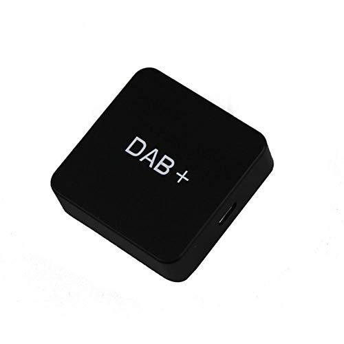 Ohok DAB/DAB + Box Digitaler Antennenelement Adapter Empfänger Unterstützung Automatische lokale Suche RDS-Funktion USB-Schnittstelle Empfänger Autoradio Android 5.1 und höher - Dab Stereo Auto