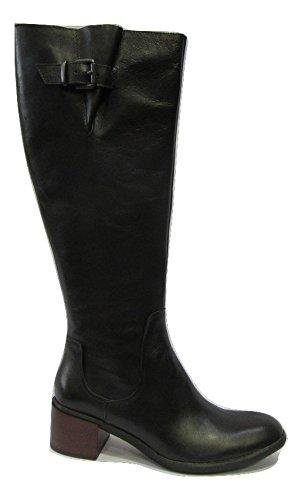 Botte UN MATIN D'ETE cuir noir Noir