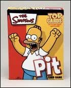 Simpsons Pit Card Game - Top Cards