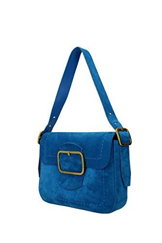 Schultertaschen Tory Burch Damen - Wildleder (37245) Blau