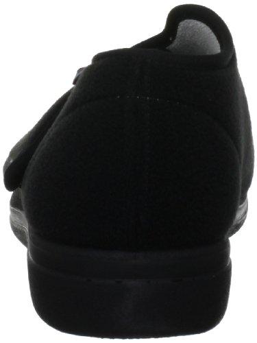 Rohde 3553, Unisex - Erwachsene Hausschuhe Schwarz (Black)