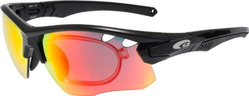 Radbrille Fahrradbrille mit Optik-Clip + Wechselscheiben