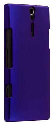Barely There Case für iPhone 4, Kunststoff, Transparent Blau