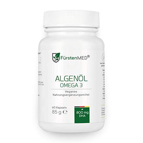FürstenMED® Omega 3 Vegan Algenöl Kapseln aus Deutschland ohne Zusatzstoffe