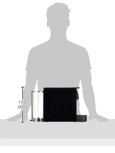31pldwEix2L - Krups Nespresso XN1108 Essenza Mini coffee capsule machine, 1260 watts, black, 0.6 liters