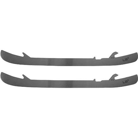 Bauer TUUK velocidad luz 2 borde superior de acero inoxidable acero (par) de repuesto