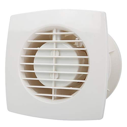 Ventole di scarico Ventilazione Ventola da bagno da 6 pollici con ventola di scarico e valvola antiriflusso: 40dBm2, volume d'aria: 180 m3 / h,