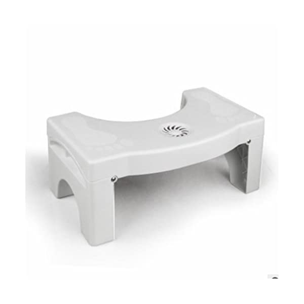 Folding Toilet Stool Stool Toilet Stool Child Booster Stool Toilet Artifact Foot Stool Ddpp Toilet seat foot stool Folding design Built-in spice box Replacement at any time Silicone feet Stable non-slip Massage soles Applicable to elderly people, children, pregnant women, people with constipation. Solid silicone mats never fall off 1