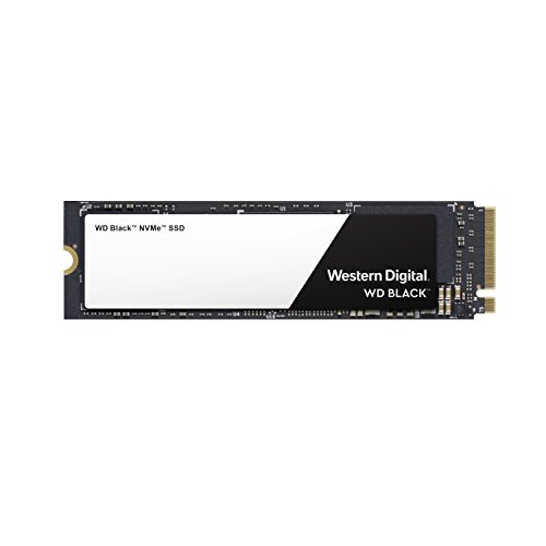 Western Digital WD Black NVMe - Disco duro sólido SSD 500GB, M.2, PCI Express 3.0, 3400 MB/s