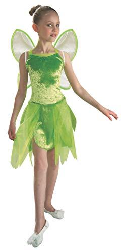 Costume Tinkerbell Campanellino 8-10 anni Include vestito e ali