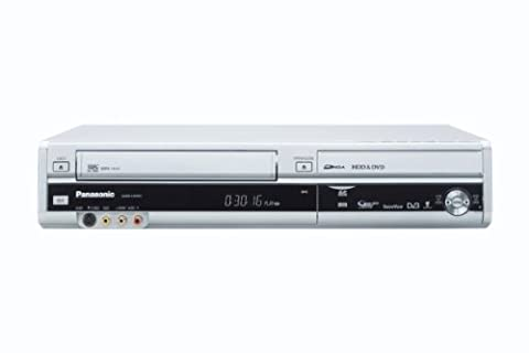 Panasonic DMR-EX99VEGS DVD- und Festplatten-Rekorder / VHS-Rekorder Kombination 250 GB (HDMI, Upscaler 1080p, DivX-zertifiziert, USB 2.0) mit integriertem DVB-T & analog Kombi Tuner silber